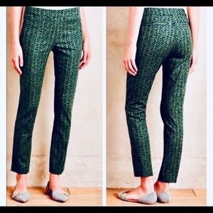 ANTHROPOLOGIE CARTONNIER CRIPPED PANTS [size 8]